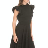 'ALE - Γυναικεία μπλούζα 'ALE μαύρη