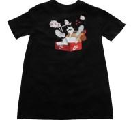 NIKE - Παιδικό t-shirt ΝΙΚΕ NSW SHOEBOX AF1 μαύρο