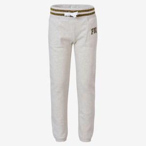 FUNKY BUDDHA - Κοριτσίστικο παντελόνι φόρμας FUNKY BUDDHA μελανζέ λευκό