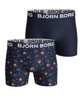 BJORN BORG - Ανδρικά boxer σετ των 2 BJORN BORG SPACEMAN SAMMY μπλε image