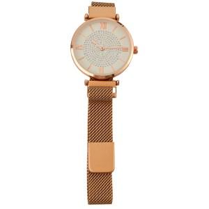 MOOD MAKERS - Γυναικείο μαγνητικό ρολόι MOOD MAKERS χρυσό