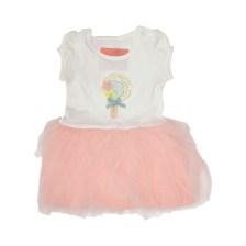 SAM 0-13 - Βρεφικό φόρεμα SAM 0-13 εκρού ροζ