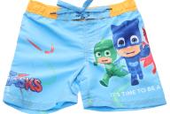 PJ MASKS - Παιδικό μαγιό σορτς PJ MASKS μπλε