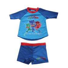 PJ MASKS - Παιδικό μαγιό PJ MASKS μπλε κόκκινο