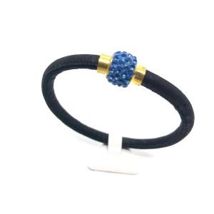 APOXYLO - Γυναικείο λεπτό βραχιόλι APOXYLO 545.1 CRYSTAL μπλε