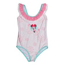 DISNEY - Παιδικό ολόσωμο μαγιό για κορίτσια DISNEY MINNIE ροζ