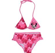 DISNEY - Παιδικό μαγιό μπικίνι DISNEY MINNIE ροζ