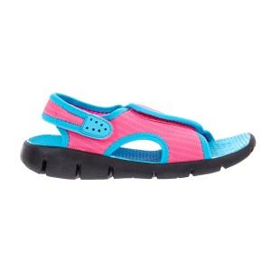 NIKE - Παιδικά σανδάλια Nike SUNRAY ADJUST 4 φούξια