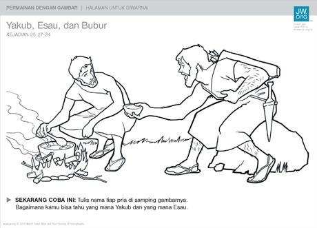 Mewarnai Gambar Cerita Alkitab  warnai gambar