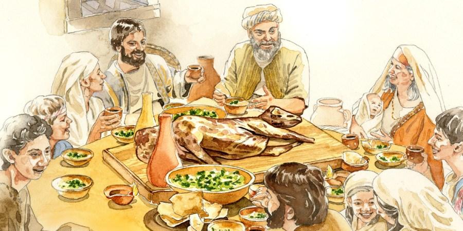 Risultati immagini per famiglia pasqua ebraica