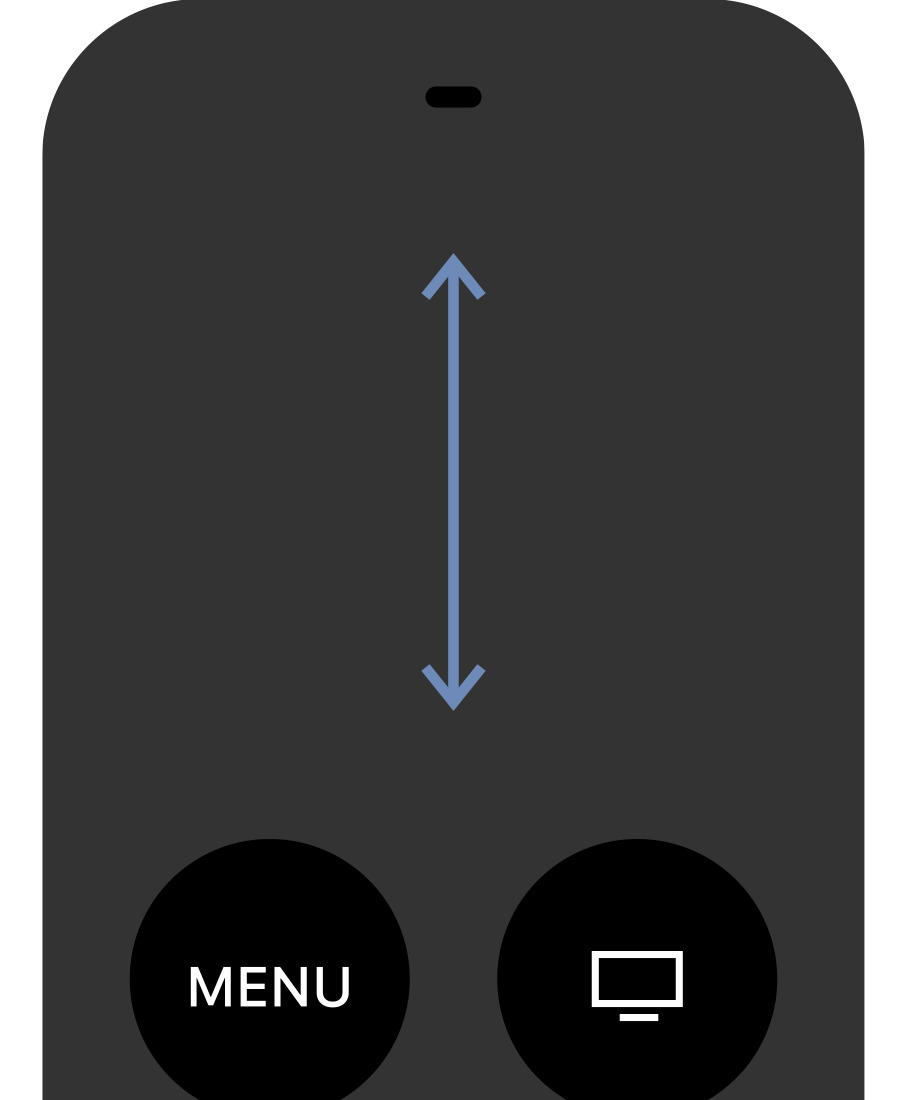 medium resolution of swipe up or down on your siri remote to navigate through the list of channels the left side of the screen displays the schedule of videos that will be