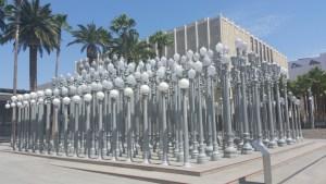 lamp posts -Chris Burden - LA