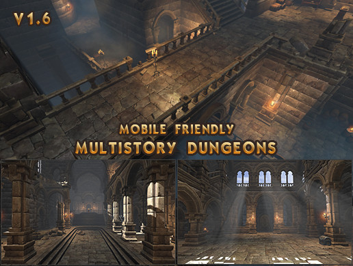 multistory dungeons asset store