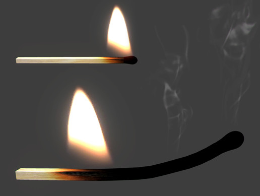 burning match asset store
