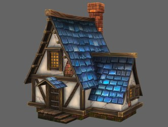 Stylized Medieval House 3D Environments Unity Asset Store