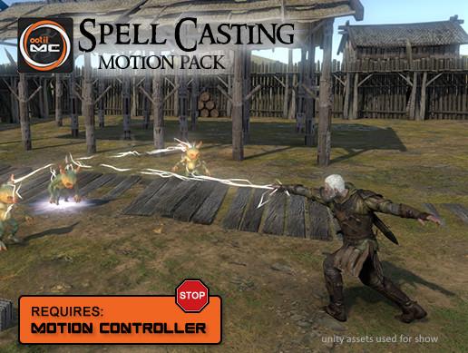 spell casting motion pack