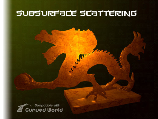 subsurface scattering shader