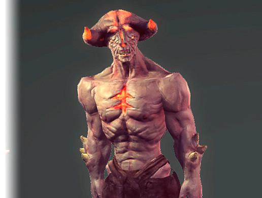 fire demon asset store