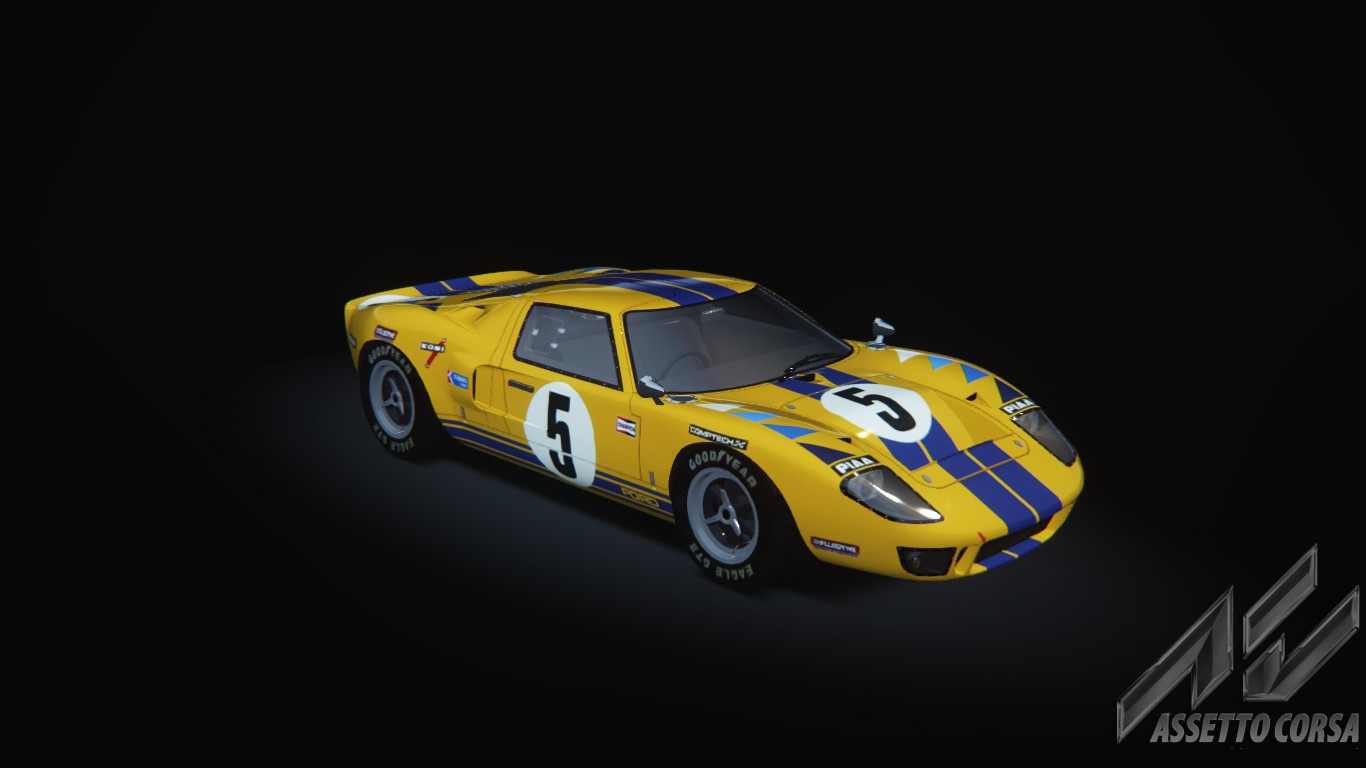 Ford Gt40 Mk1 Ford Car Detail Assetto Corsa Database