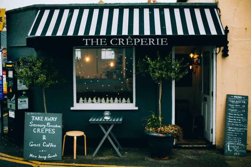 the creperie store photography