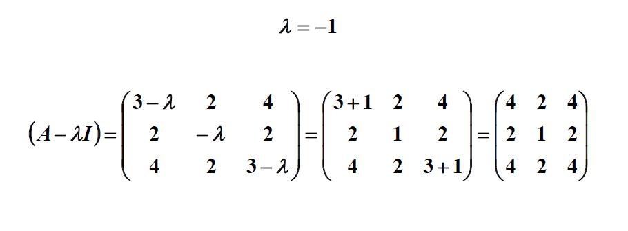 Eigenvalues and Eigenvectors of 3x3 Matrix Example
