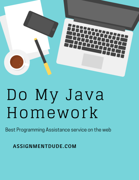 Do my Java Homework for Money