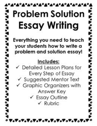 How to Write a Problem Solution Essay: Guide with Examples