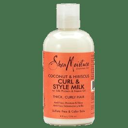Shea Moisture Coconut & Hibiscus Curl and Shine Curl & Style Milk 236ml