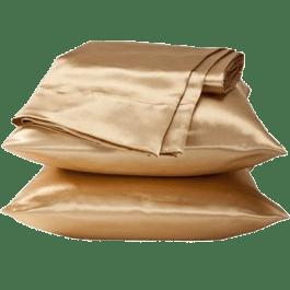 Fronha de Cetim Satin Pillow Cover