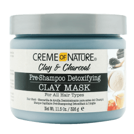 Creme of Nature Clay & Charcoal Pre-Shampoo Detoxifying Clay Mask 326gr