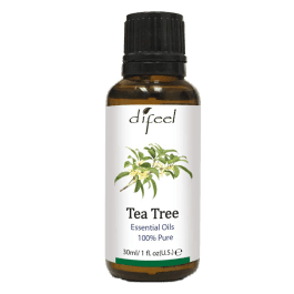 Óleo Essencial de Tea Tree 100% Puro (Árvore-do-chá) – Difeel 30ml