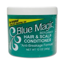Blue Magic Bergamot Hair Conditioner Dress The Original Anti-Breakage Formula 340gr