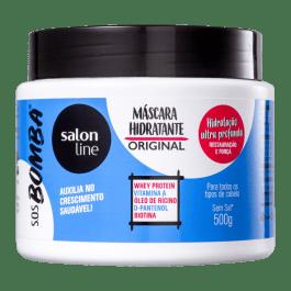 Salon Line SOS Bomba Máscara Hidratante Original 500gr