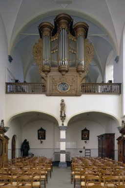 Interieur_kloosterkapel,_aanzicht_westgevel_met_orgel,_orgelnummer_952_-_Megen_-_20369059_-_RCE