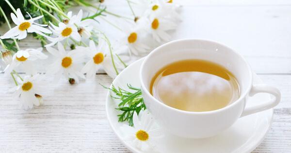 カモミールと紅茶