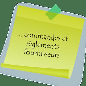 Pour ne jamais manquer de fournitures Assist'Elo prend en charge la gestion des commandes et règlements fournisseurs