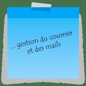 A Couëron (près de Nantes), une assistante administrative freelance se charge de la gestion du courrier et des mails