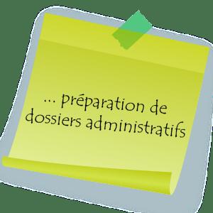Votre assistante freelance s'occupe de la préparation de dossiers administratifs qui peuvent parfois s'avérer fastidieux