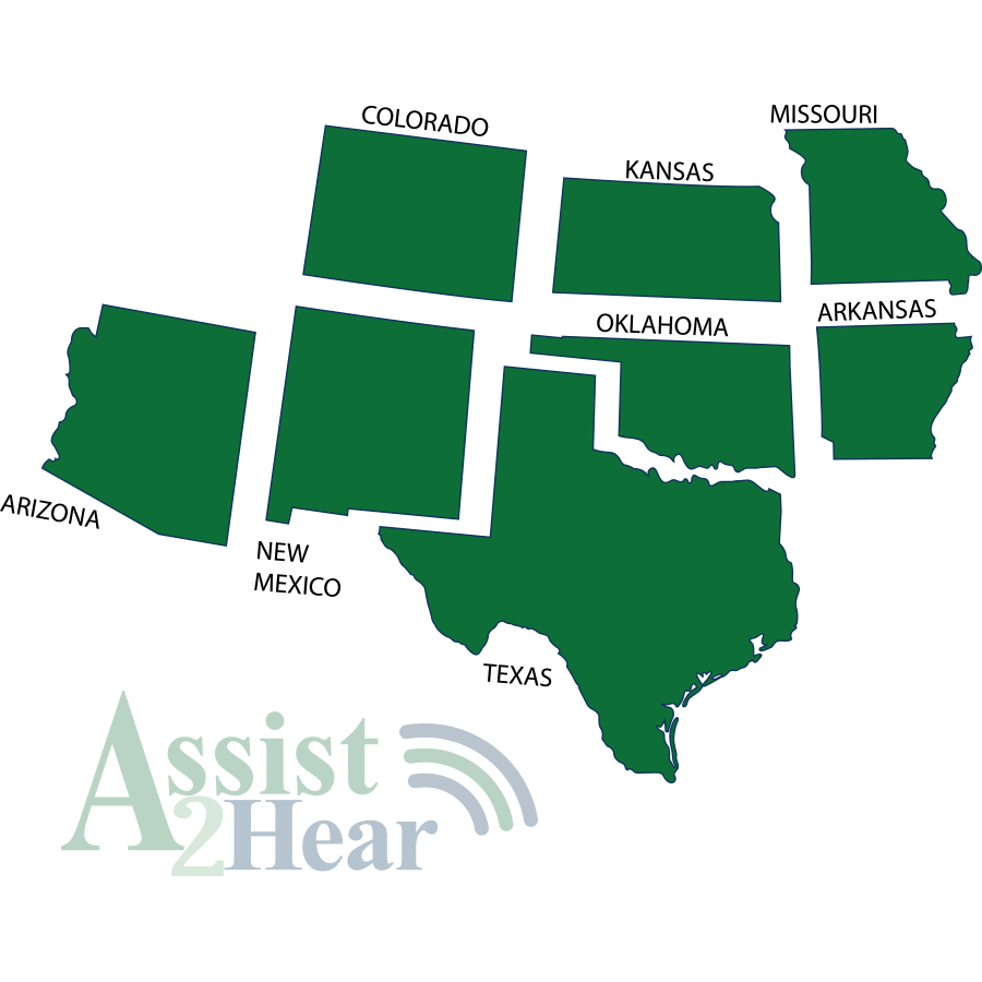 Assist2Hear Service Map