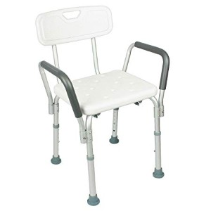 transfer shower chair mid century modern dining room chairs the best for elderly assisted living today with back by vive