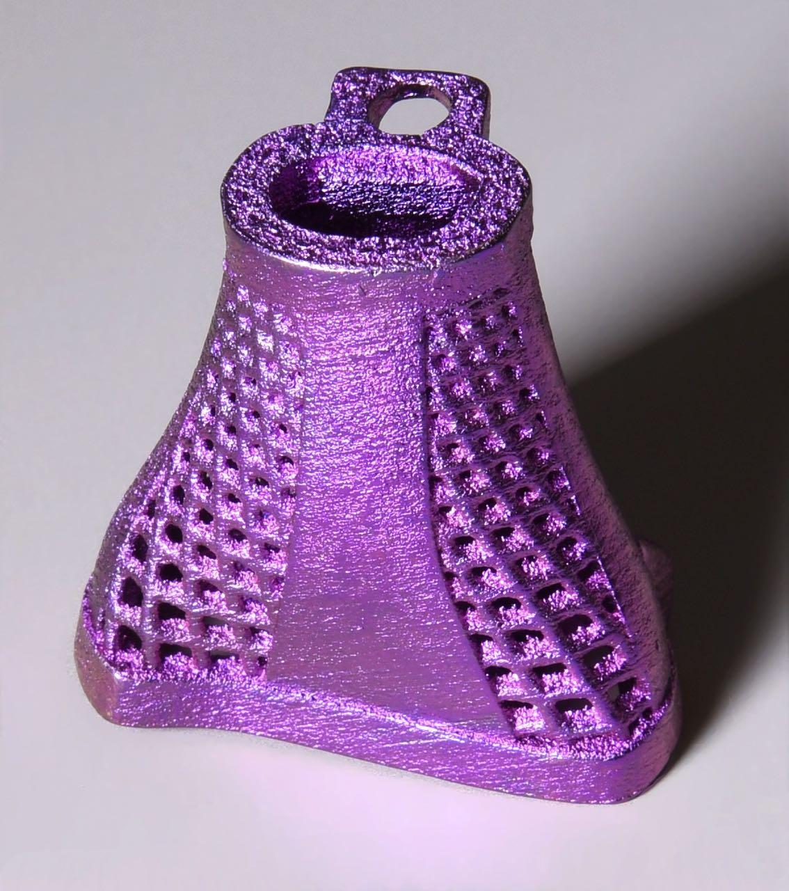 3d printed titanium vertebrae