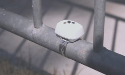 Beacons are placed everywhere to find the location accuracy of the visually impaired user.