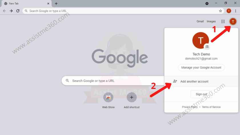 Login gmail as a different user (4)