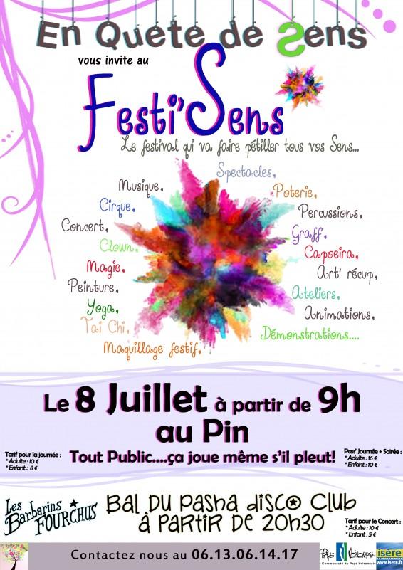 Festival Festi-Sens, Lac de Paladru