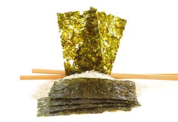 Comment choisir les feuilles de nori ??