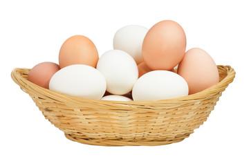 Quelles différences entre l'œuf de cane et l'œuf de poule...?
