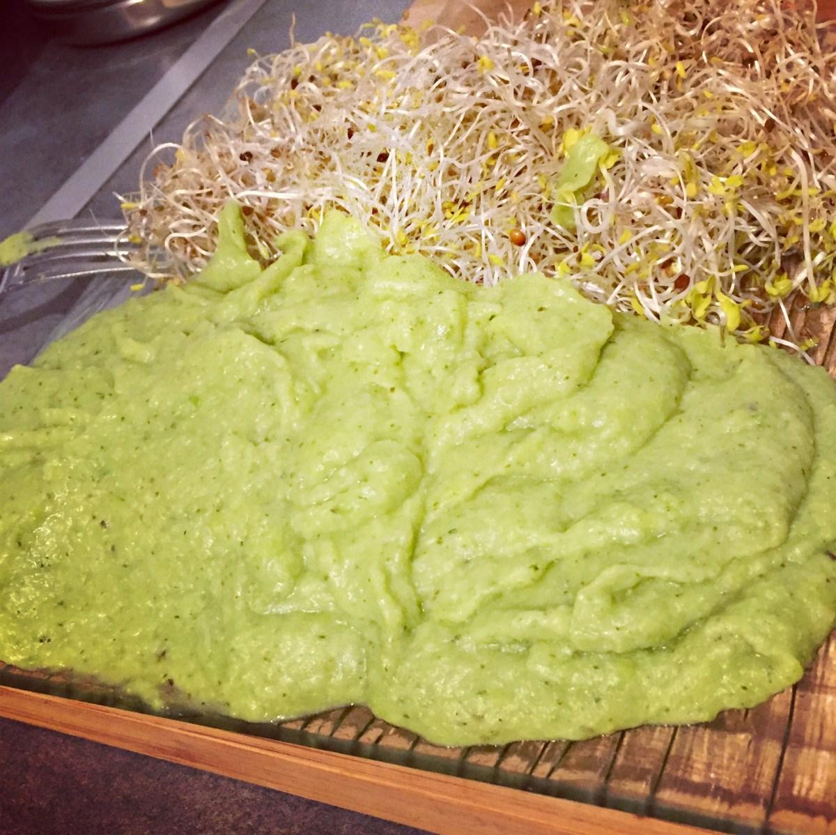 Purée de Pommes de terre-Brocolis-Petits pois-Courgettes en 6 minutes chrono !