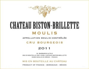 Chateau Biston Brillette 2011 - Asso Pierre Favre