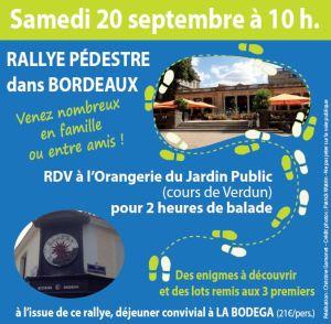 Rallye Pedestre Association Pierre Favre Samedi 20 septembre 2014