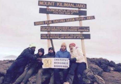Défi Kili 2015 : Au sommet pour Bergonié